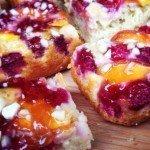 Brett & Bailey: Peach & raspberry melba