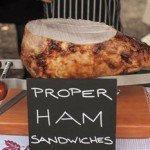 Charcuterie Board: Proper ham sandwiches