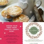 Elvira's Secret Pantry - Christmas orders - gluten/dairy/yeast free